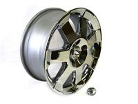 Jeep Commander Cast Aluminum Wheel Kit 18 Inch - 82210001