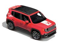Jeep Renegade White Snowboard Graphic - 82214822