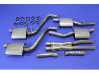 Dodge Challenger Cat-Back Exhaust System - P5160040AB