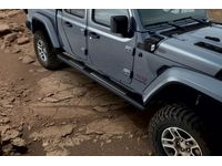 Jeep Gladiator Black Tubular Side Steps - 82215609