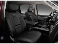 Ram Seat Covers--Front,Black,Bucket Seats - 82215462