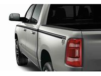 "Ram Black Bodyside Graphic-Crew Cab with 5' 7 Bed"" - 82215530AB"