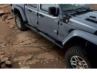 Jeep Gladiator Black Tube Steps (Gladiator) - 82215609AB