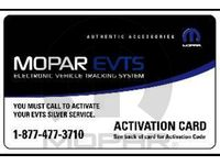 Mopar 82214066 Electronic Vehicle Tracking System - Service Plans