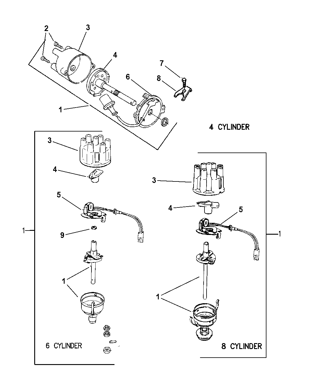 56028143 - Genuine Mopar PICKUP-DISTRIBUTOR PICK-UP