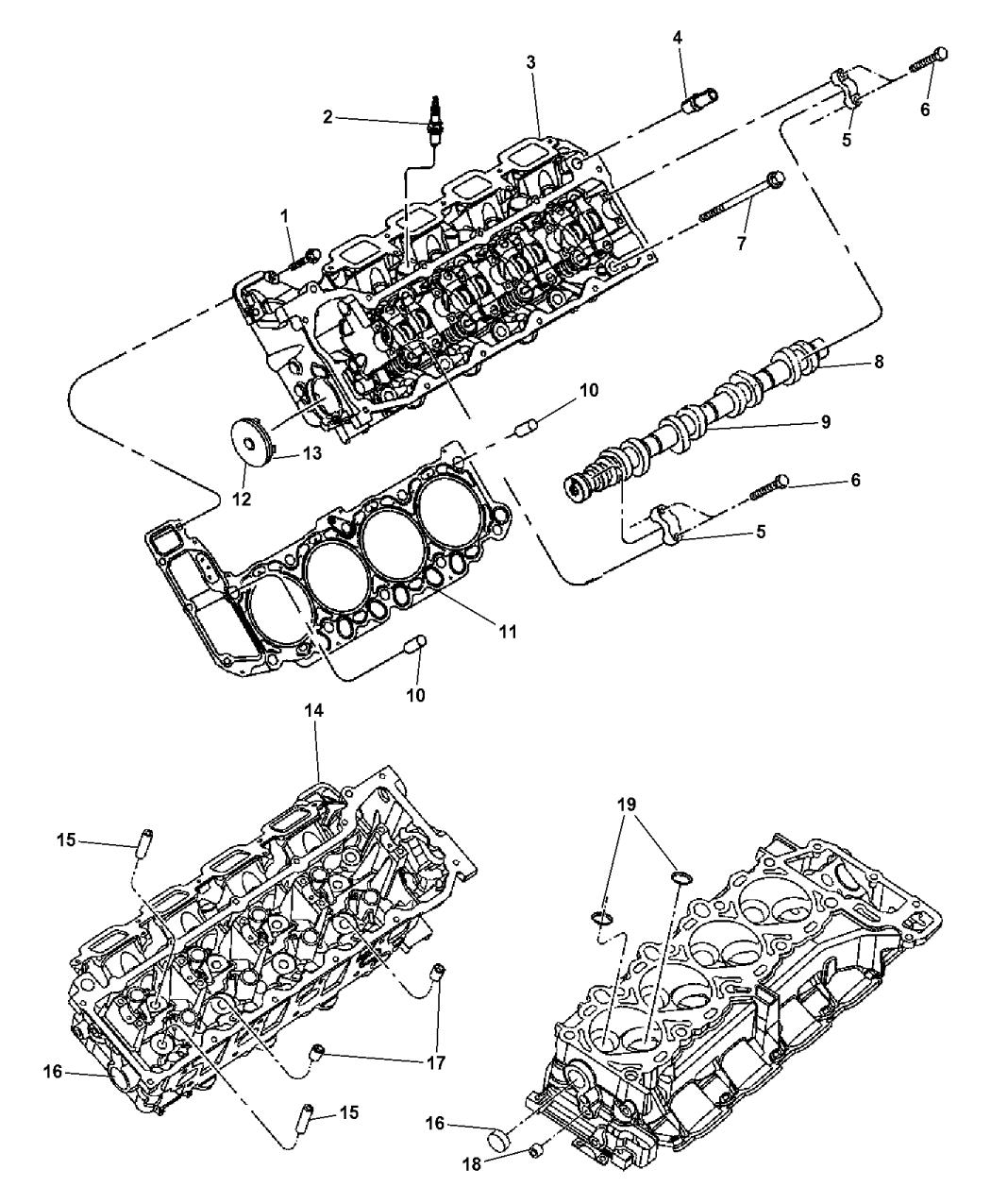 Genuine Mopar CAMSHAFT-ENGINE
