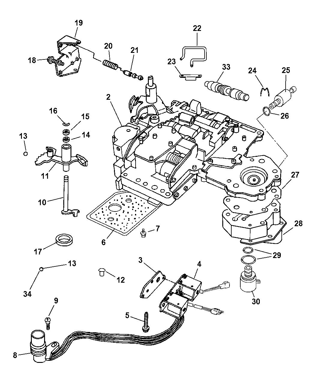 2006 Dodge Ram 1500 Valve Body Mopar Parts Giant Hemi Engine Pulley Diagram Thumbnail 3
