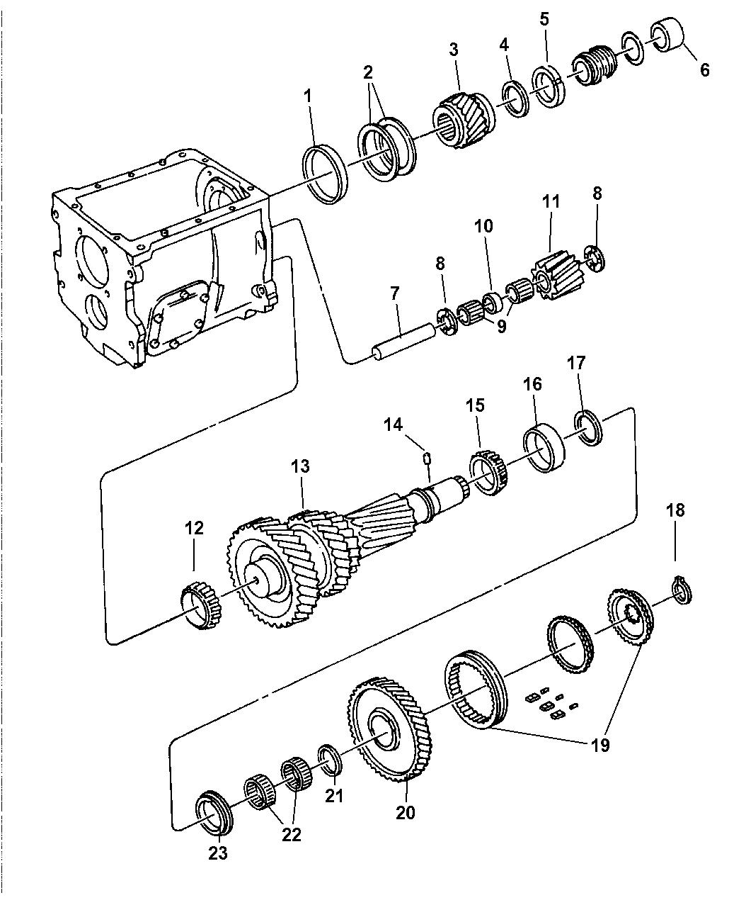 1997 Dodge Ram 3500 Gear Train - Thumbnail 1