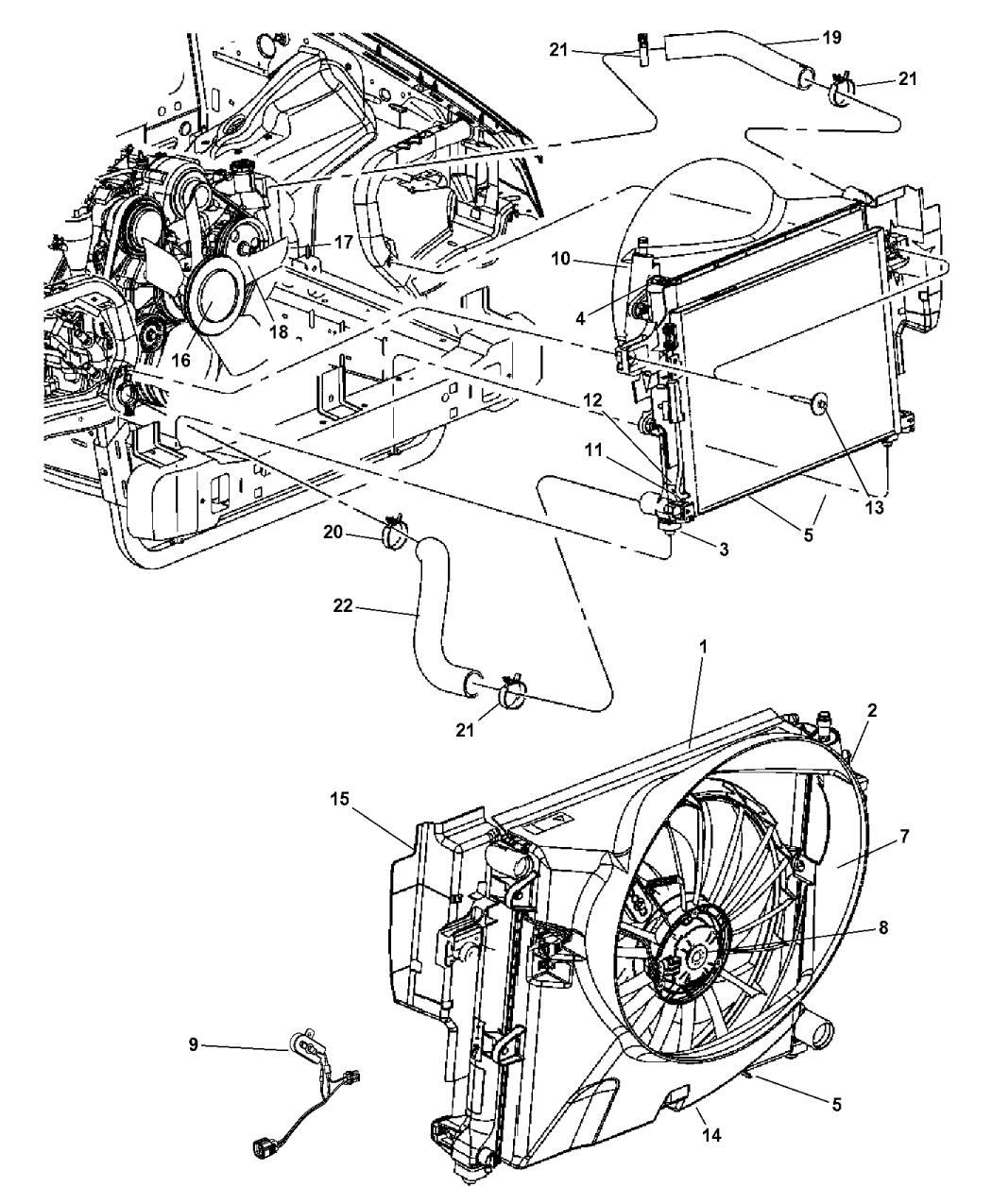 Jeep Grand Cherokee Parts Diagram