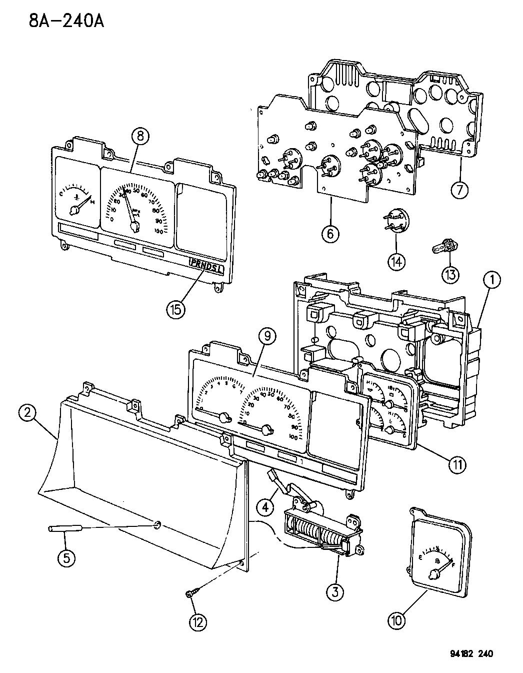 4688276 - Genuine Mopar INDICATOR GEAR SELECTOR