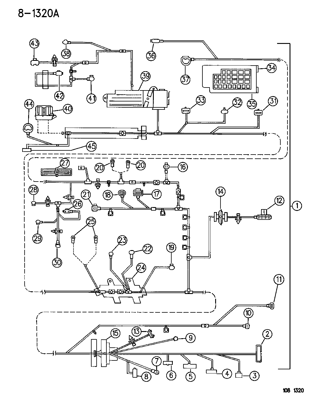 1996 Dodge Stratus Wiring Diagram Library Headlamp To Dash