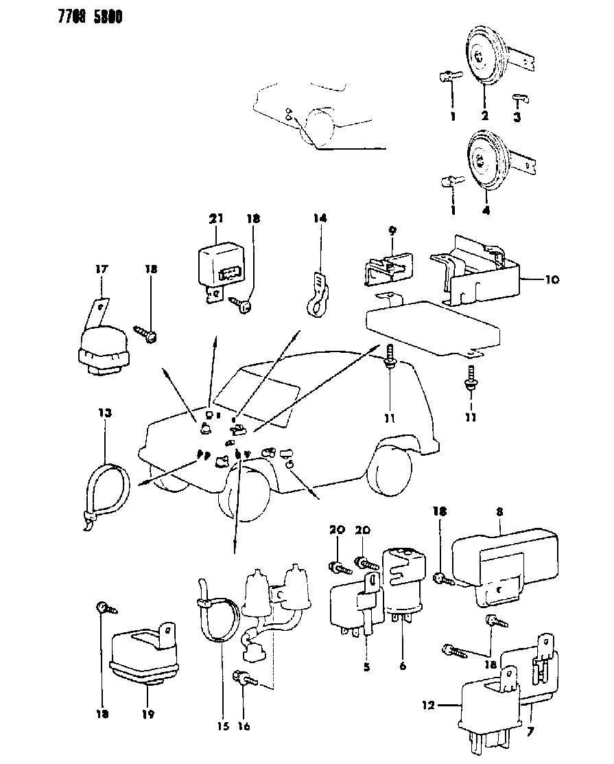 Wiring Diagram For 1987 Mitsubishi Montero Auto Electrical Related With