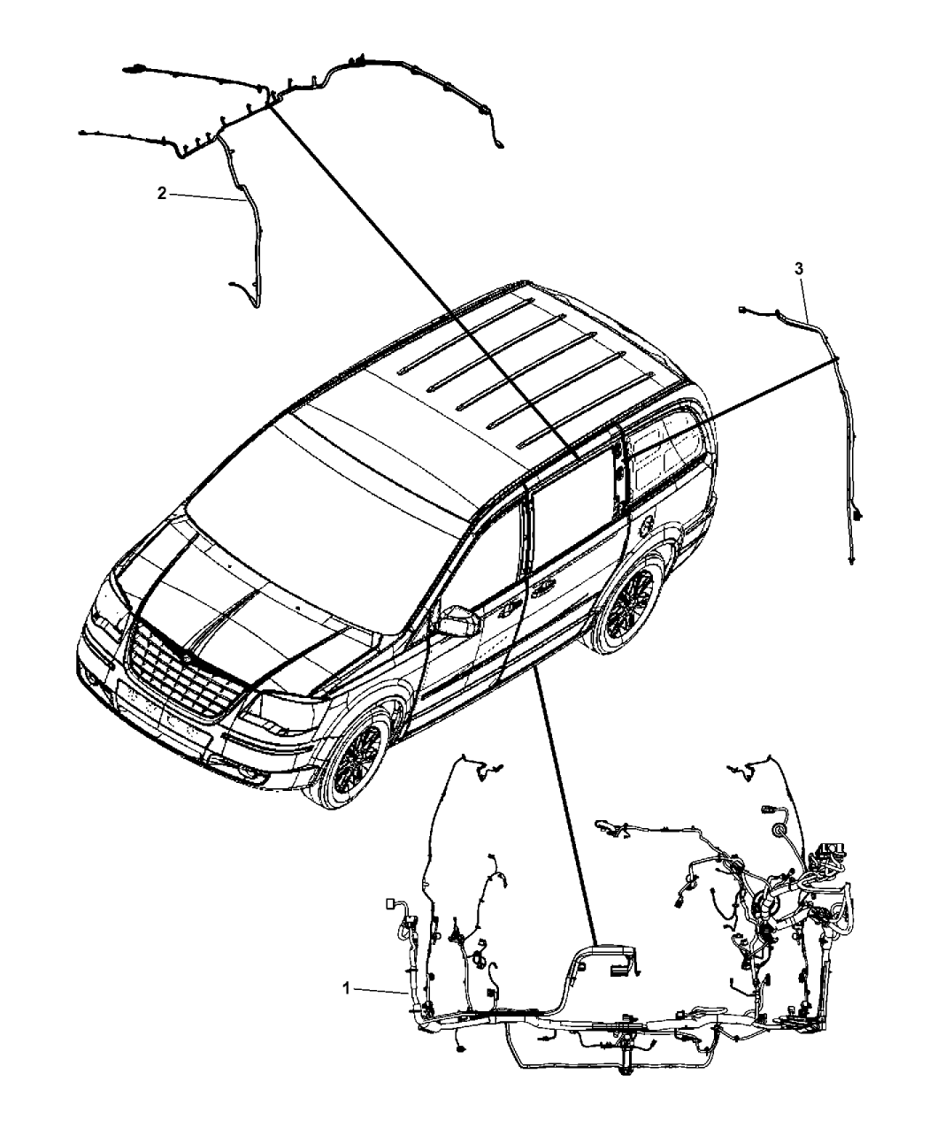 2014 Dodge Grand Caravan Wiring Body