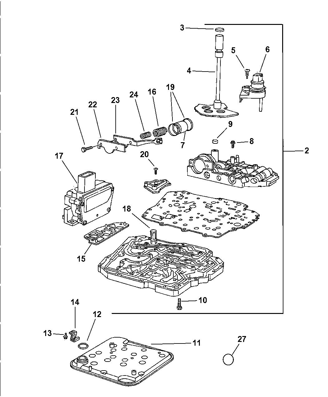 2003 Chrysler Concorde Fuse Diagram