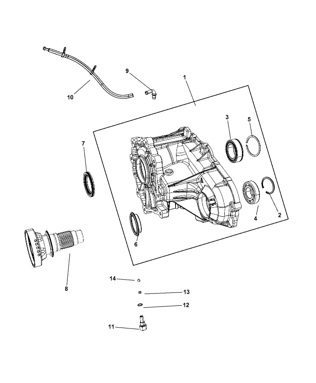 2014 jeep grand cherokee parts manual