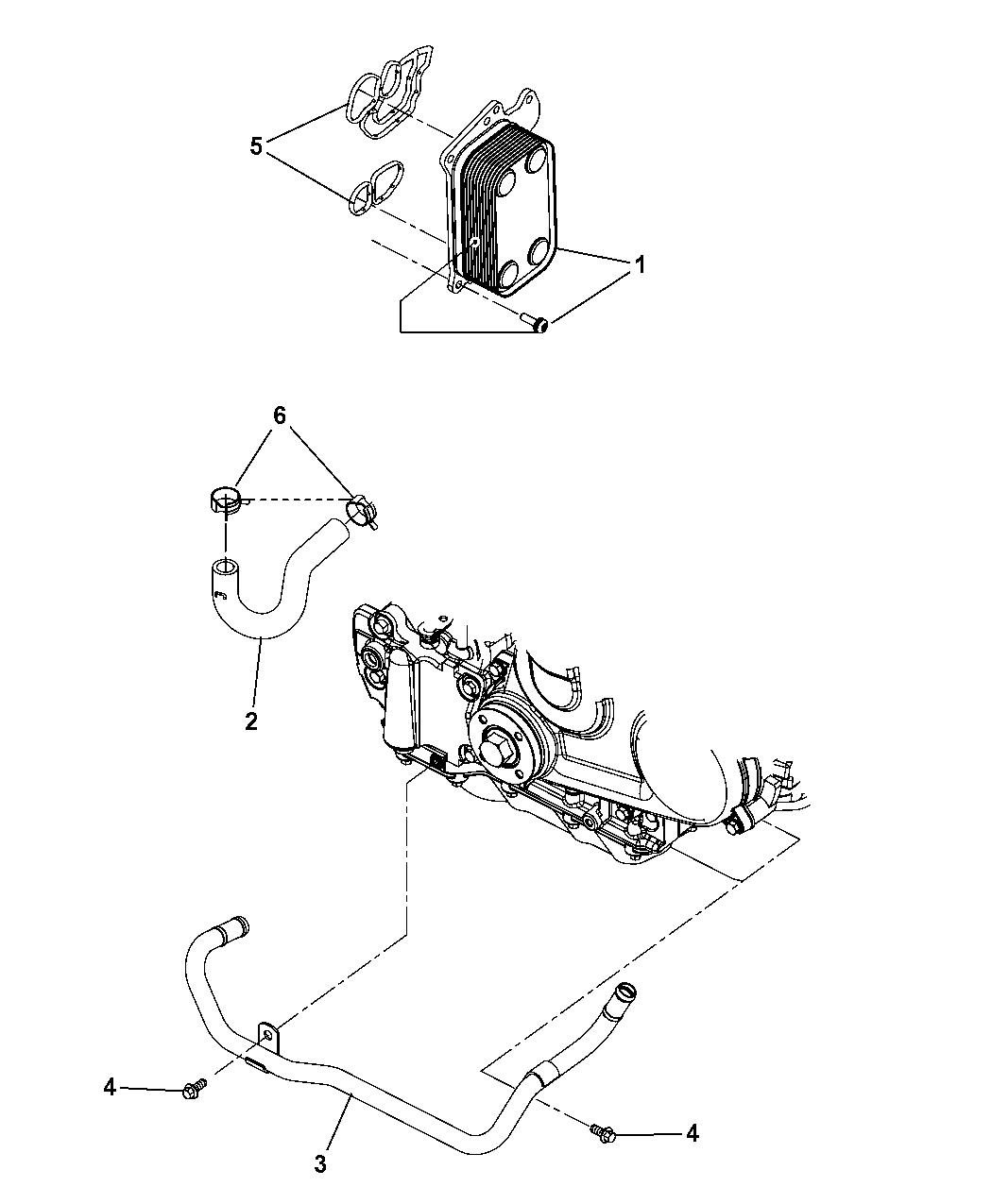 2008 jeep wrangler engine diagram