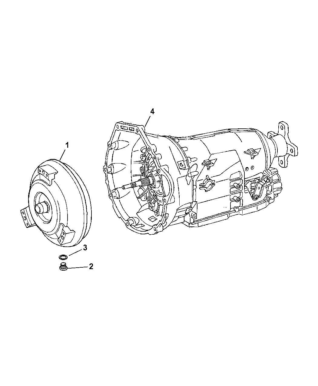 2007 Dodge Sprinter 3500 Transmission Assembly