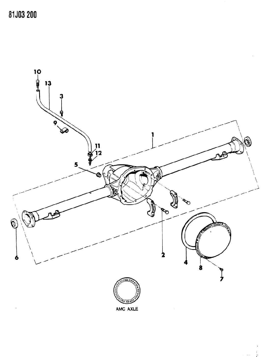 Jeep Wrangler Axle Parts