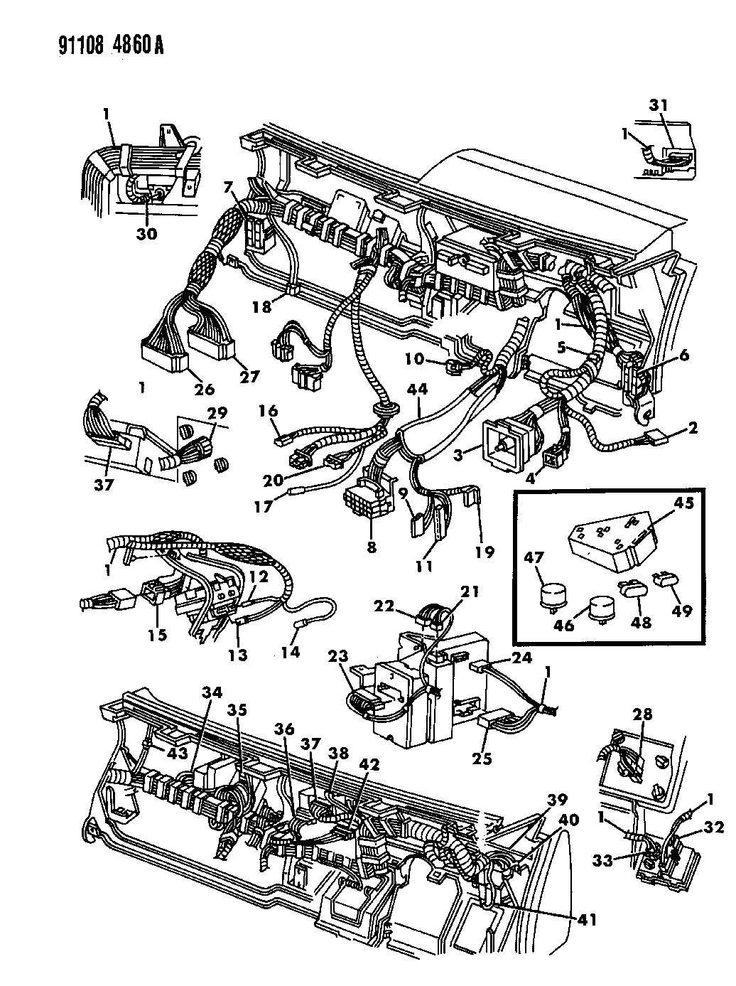 1991 dodge dynasty wiring diagram jeep wrangler wiring