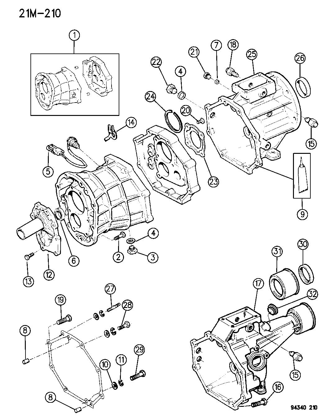 1996 dodge dakota manual transmission fluid