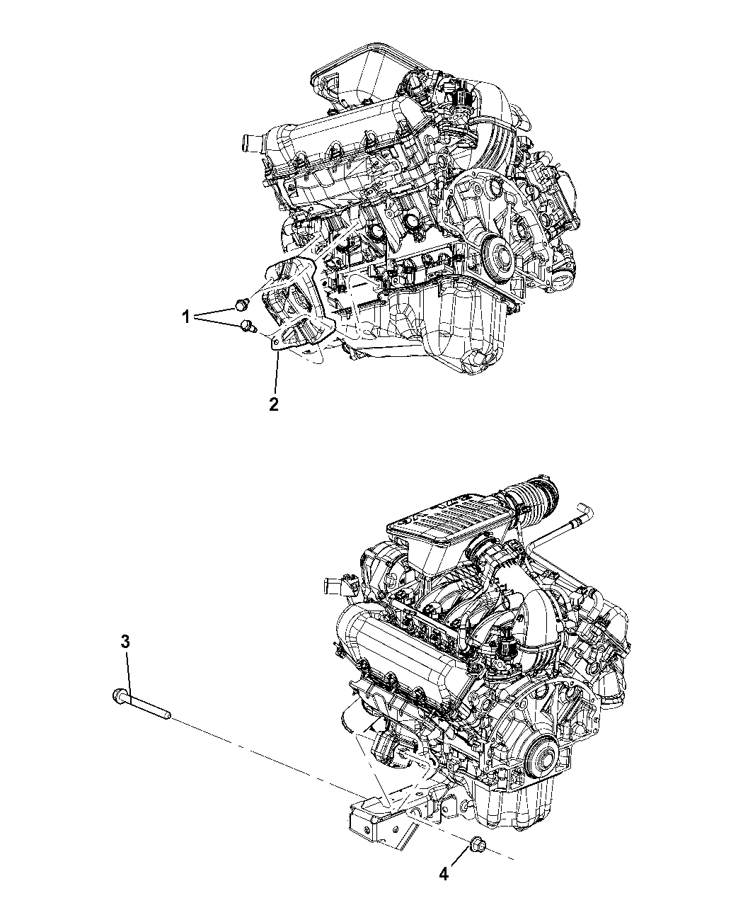 2010 Jeep Liberty Engine Mounting Left Side - Thumbnail 2