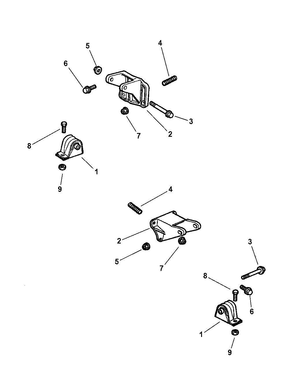 1999 Jeep Wrangler Engine