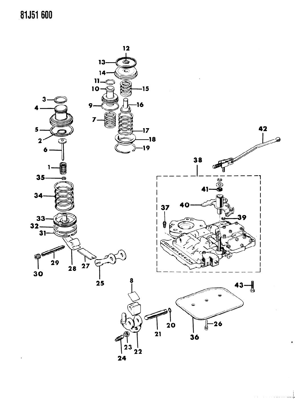 1986 Jeep Wrangler Servos