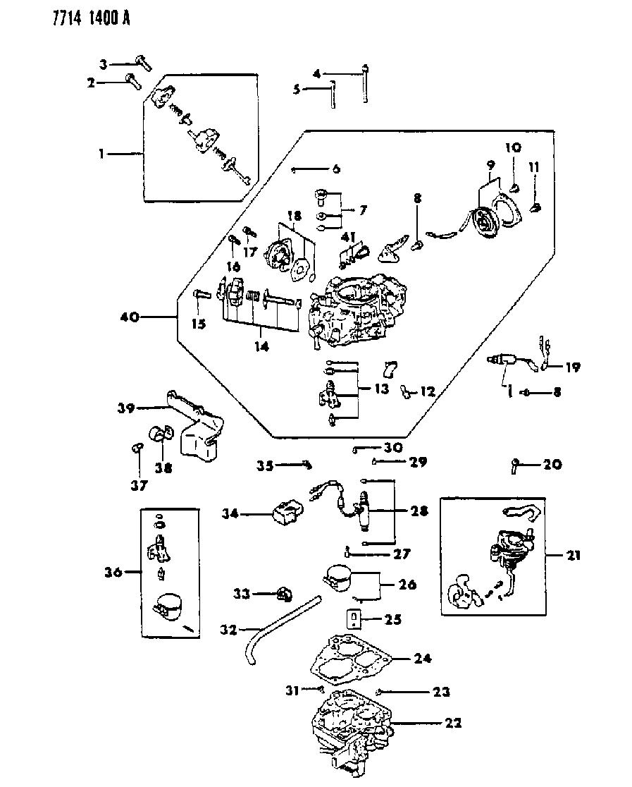 1988 Dodge Ram 50 Wiring Diagram