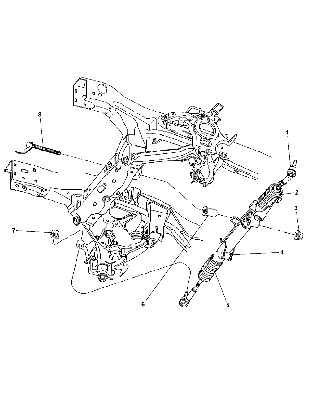 Genuine Mopar GEAR-POWER STEERING