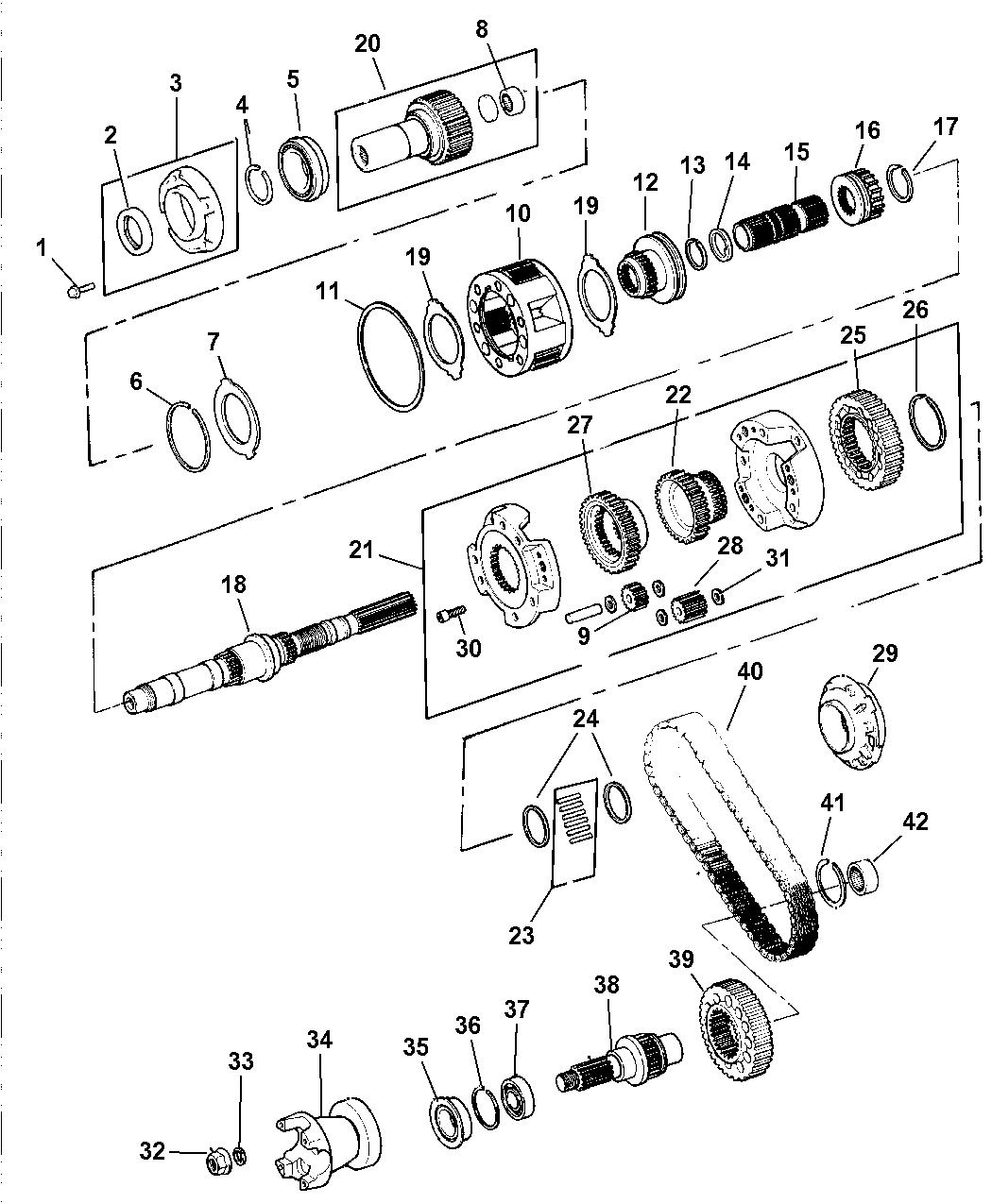 Genuine Chrysler 5019026AA Output Shaft Seal