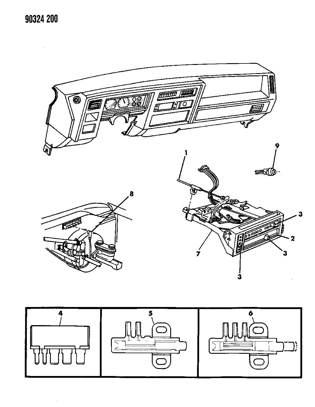 1993 dodge dakota control  heater