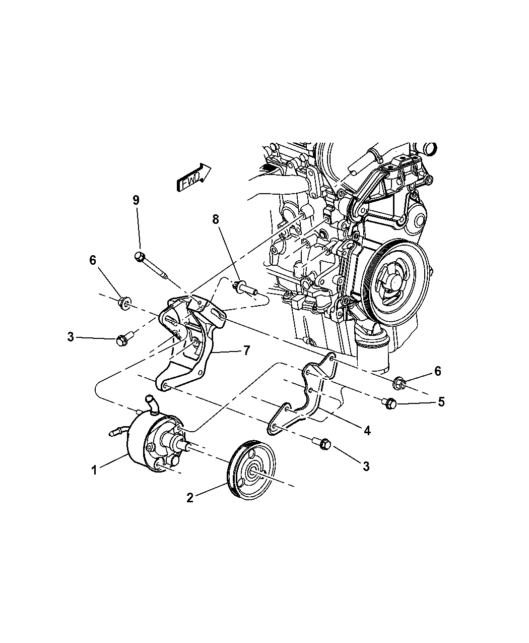 Circuit Electric For Guide: 2007 dodge caravan engine diagram