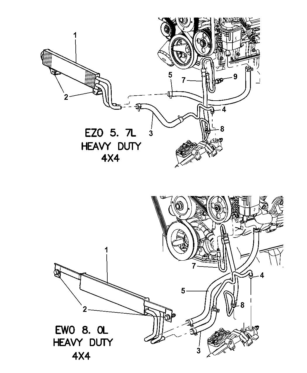52113639AC - Genuine Mopar LINE-POWER STEERING RETURNMopar Parts Giant