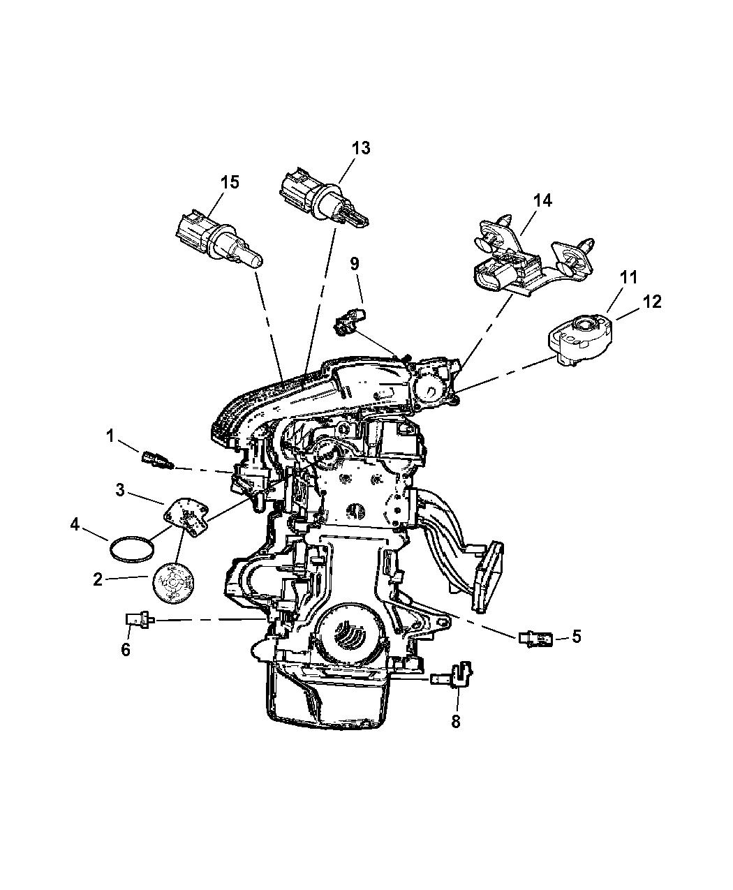 [SCHEMATICS_48YU]  2005 Dodge Neon Sensors - Engine - Mopar Parts Giant | 2005 Dodge Neon Engine Parts Diagram |  | Mopar Parts Giant