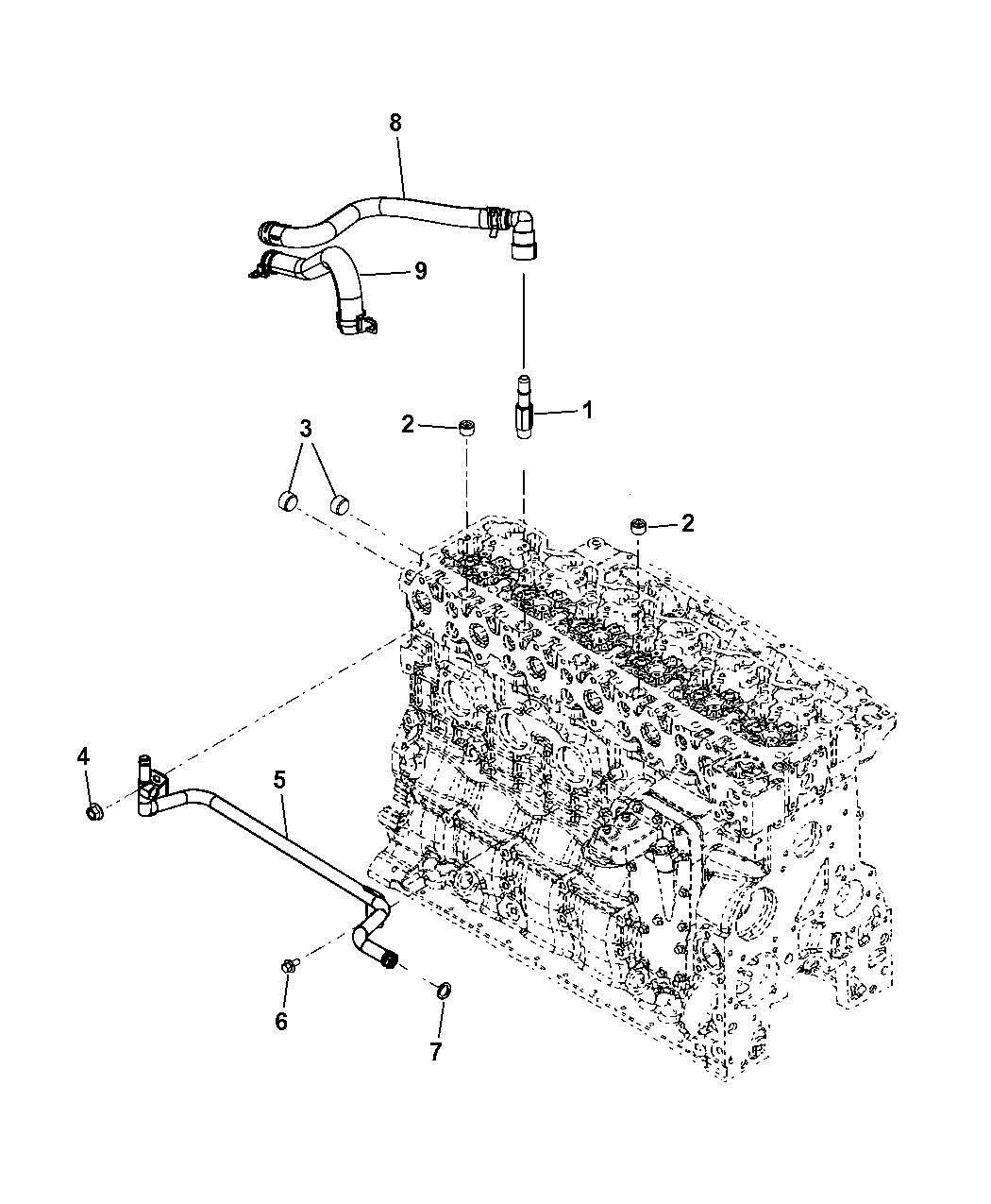 Genuine Mopar Coupling 68005253AA
