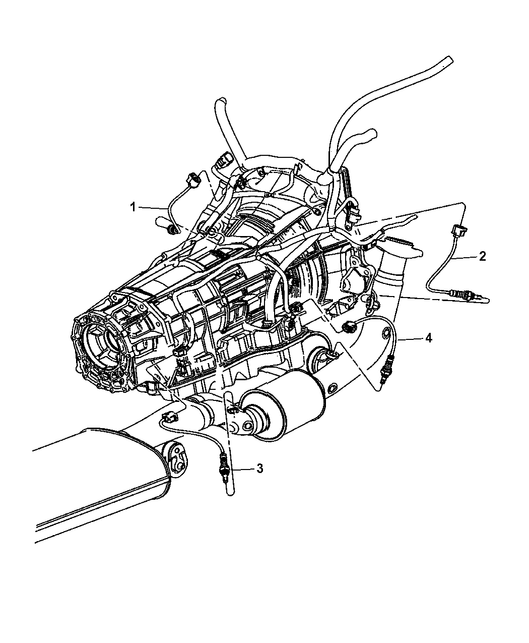 dodge 2 4 engine diagram oxygen sensor