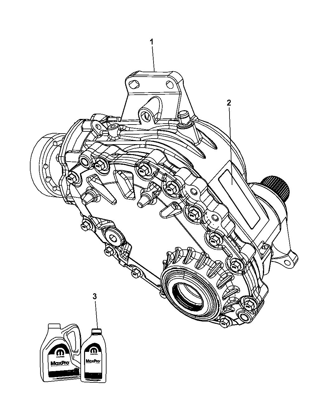 2010 Dodge Journey Power Transfer Unit & Identification