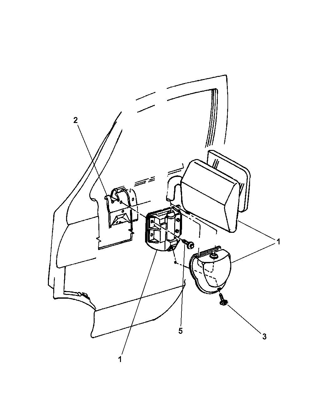 Genuine Mopar SCREW-SELF PIERCING