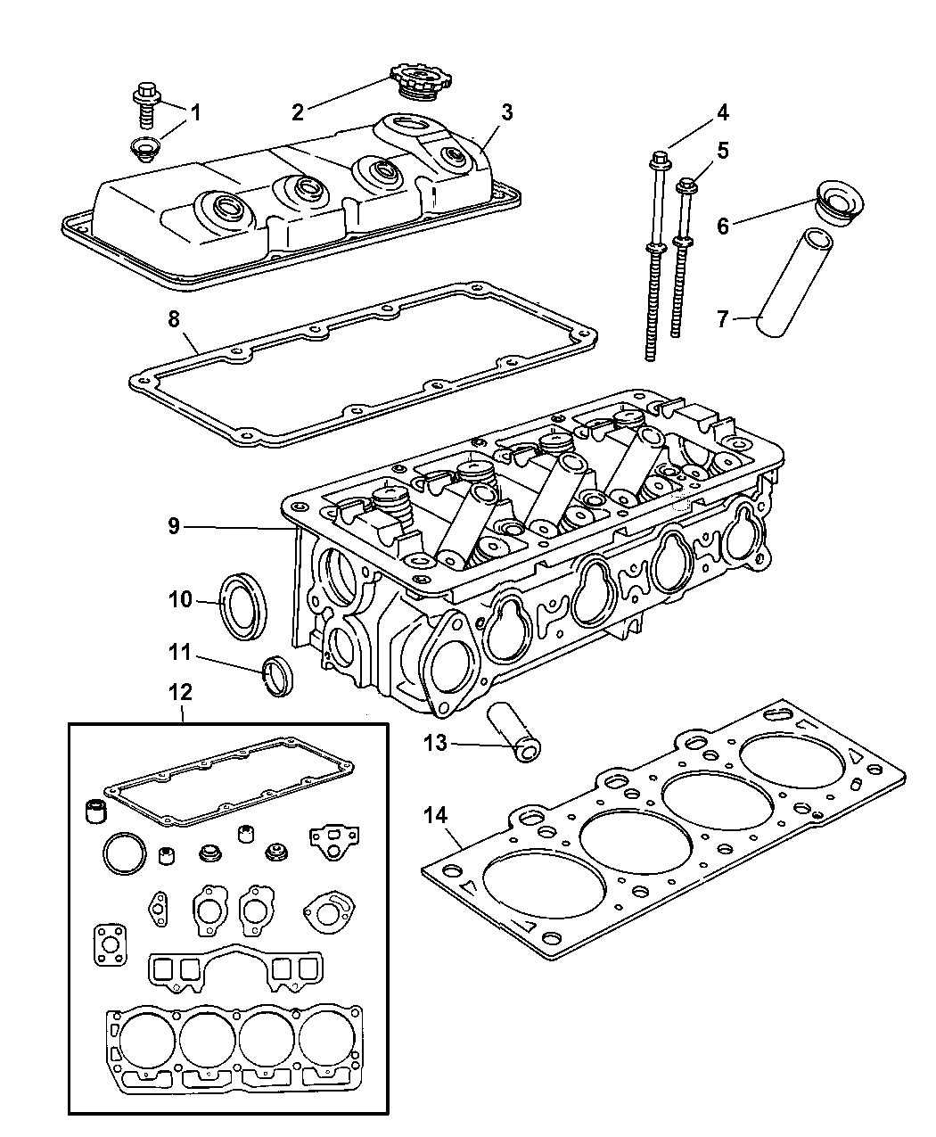 Genuine Mopar COVER-CYLINDER HEAD