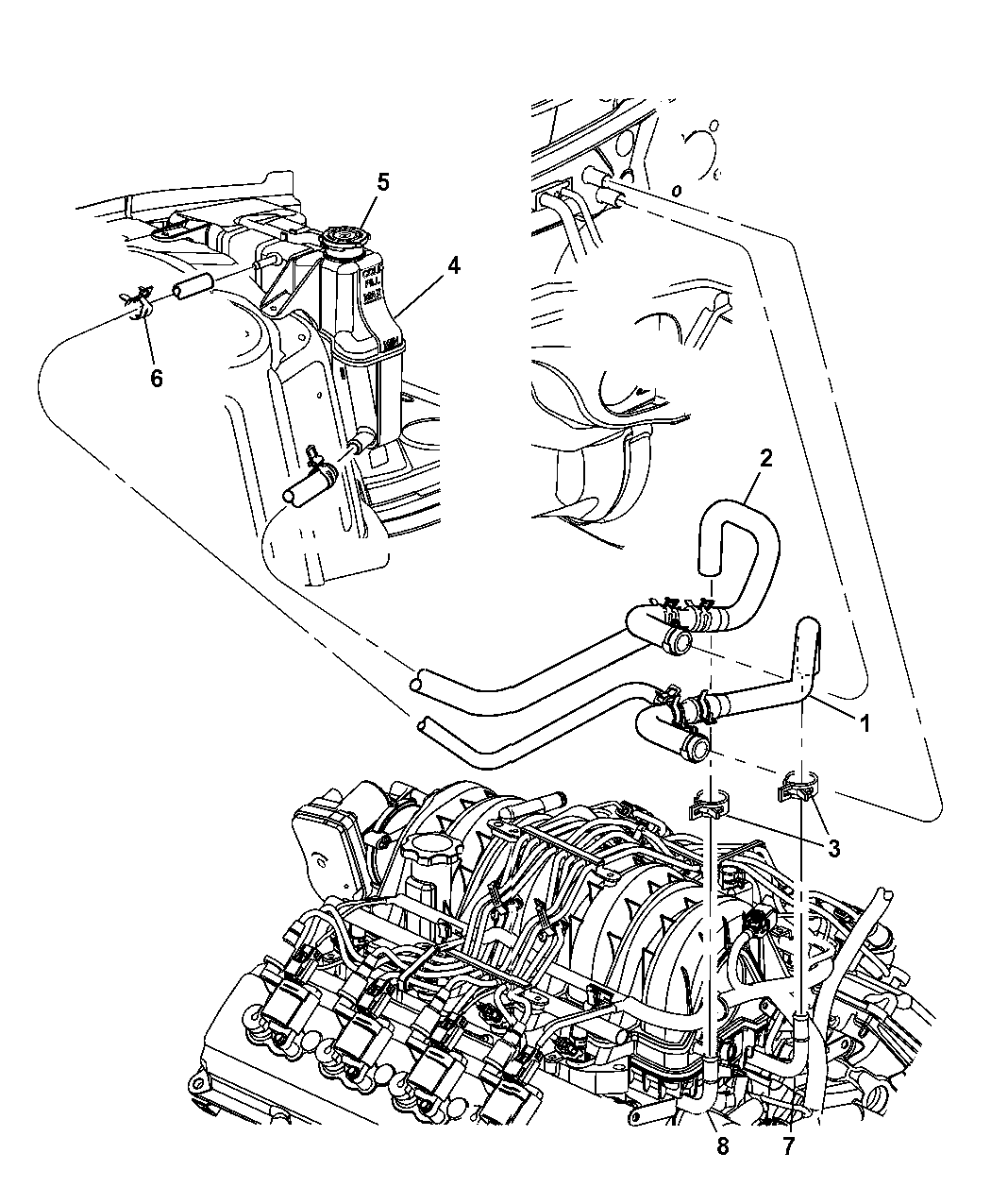 2005 300c hemi engine diagram