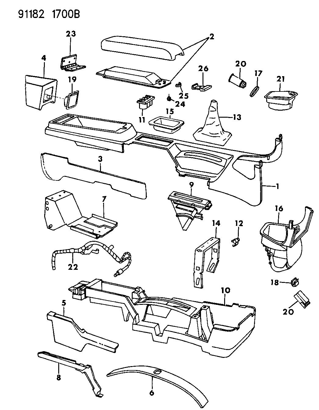 1991 Chrysler Lebaron Wiring Diagram - Wiring Diagram Schema