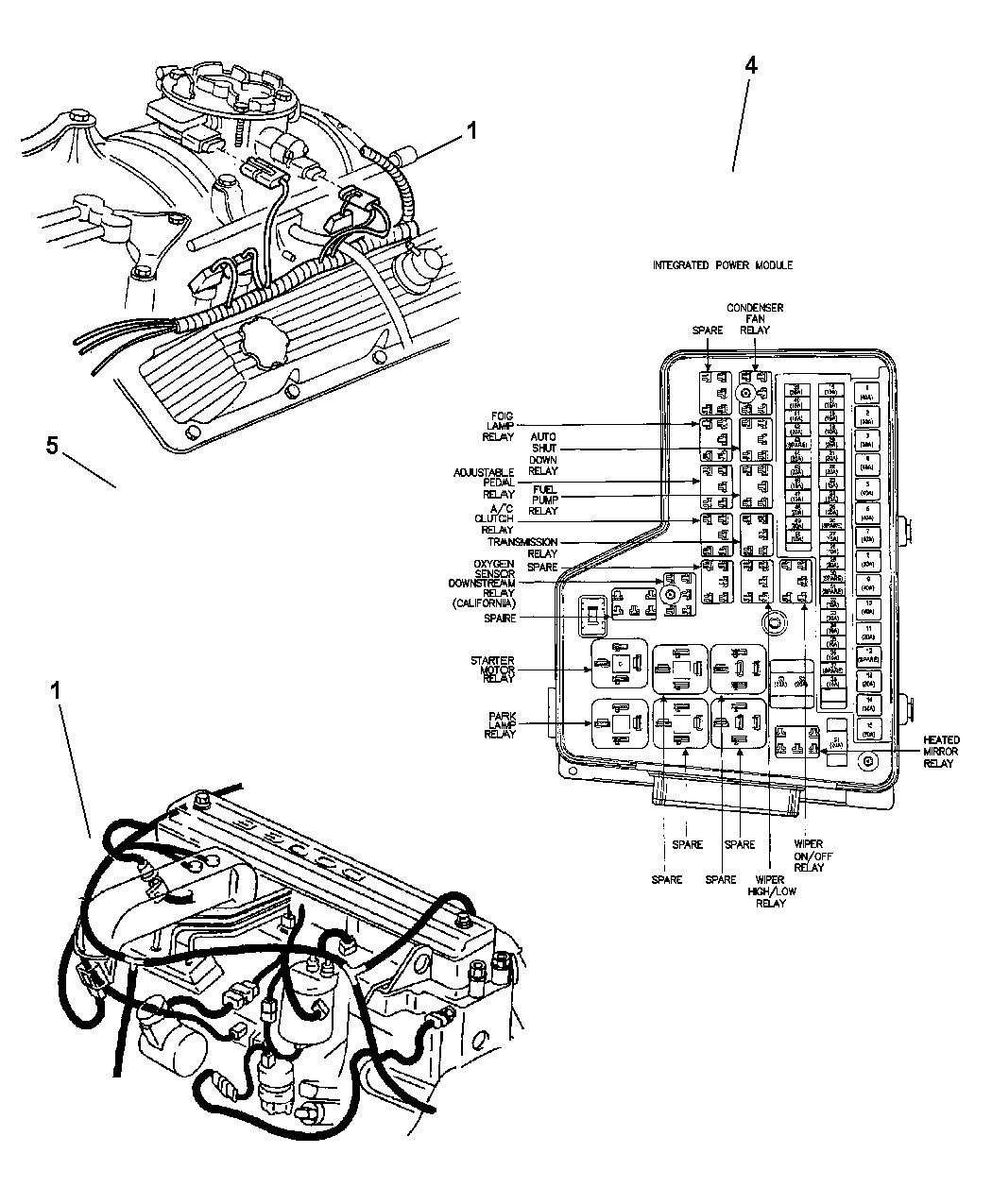 Oem Mopar Parts Diagrams 2004 Dodge Ram 2500 • Wiring