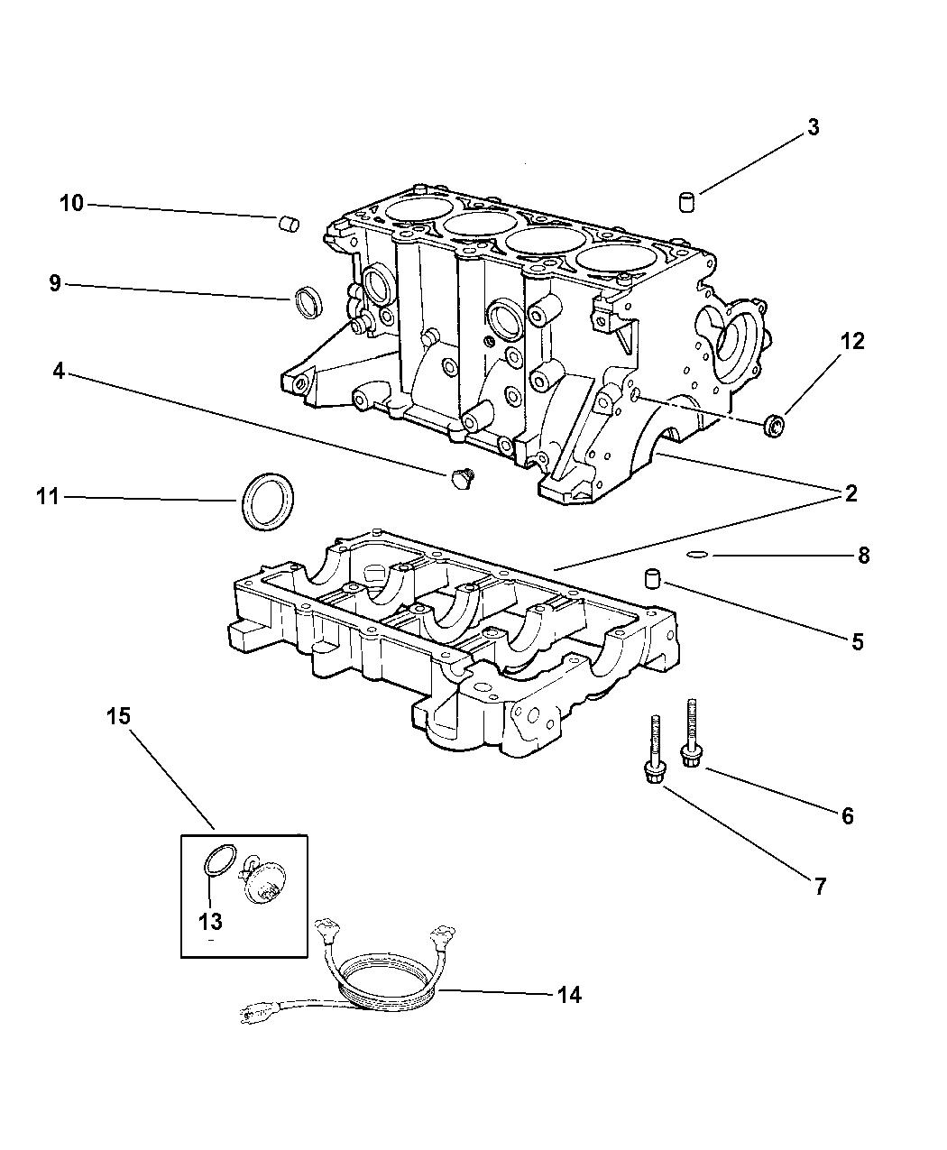 4793530 Genuine Dodge Wiring Engine Block Heater