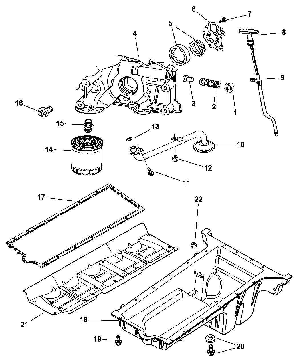 2005 dodge viper engine oiling