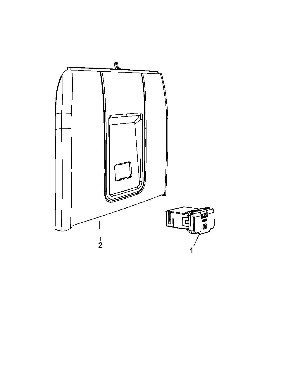 Gfci Wiring Diagram 115v: Genuine Dodge OUTLET-INVERTER