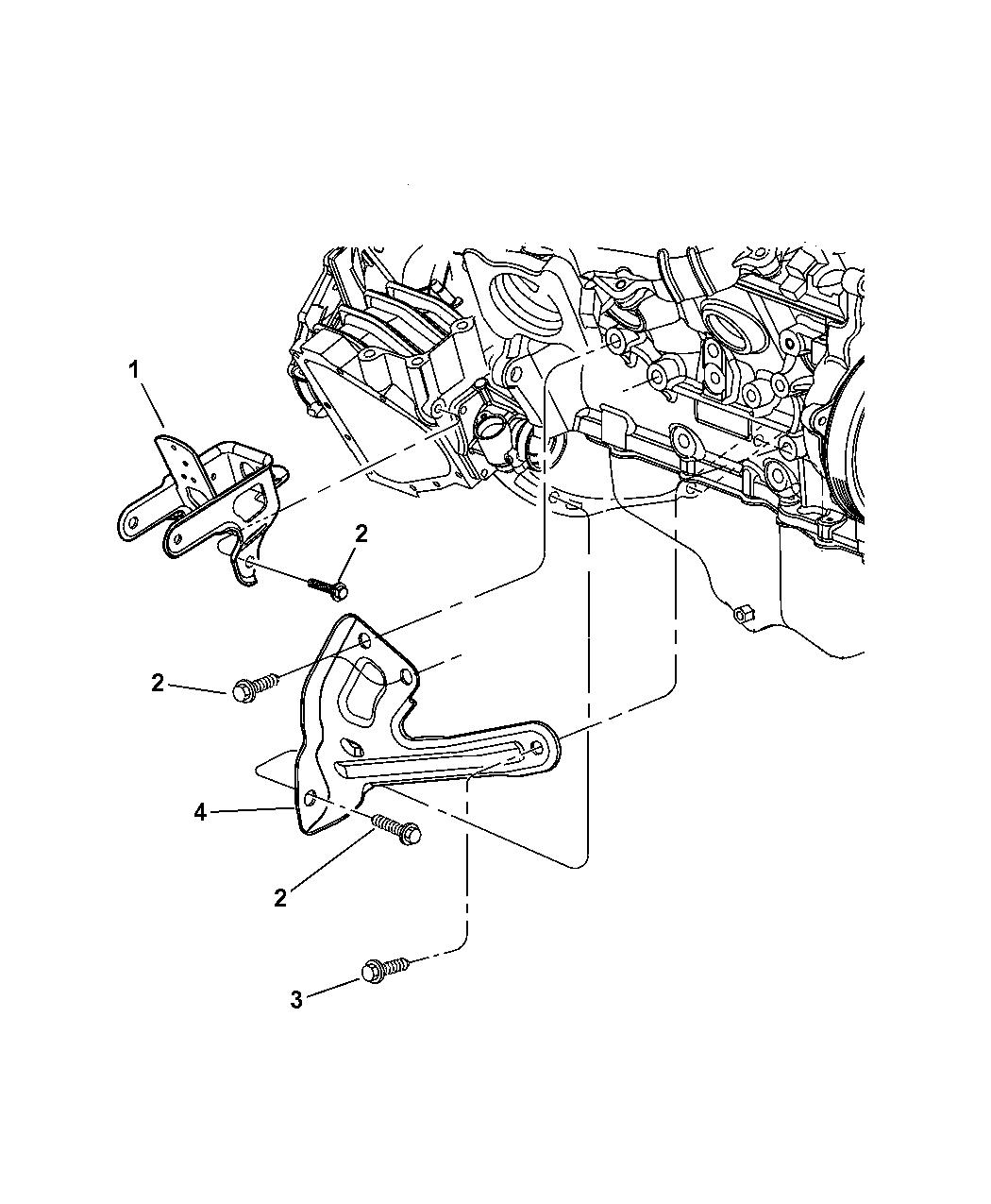 2004 Dodge Grand Caravan Strut Engine Block Bend Schematics