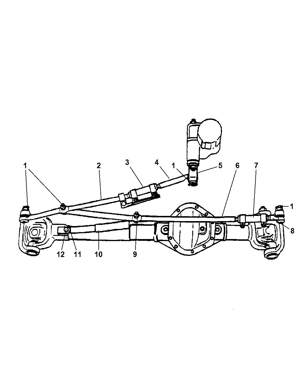 2004 Dodge Ram 2500 Steering Parts Diagram