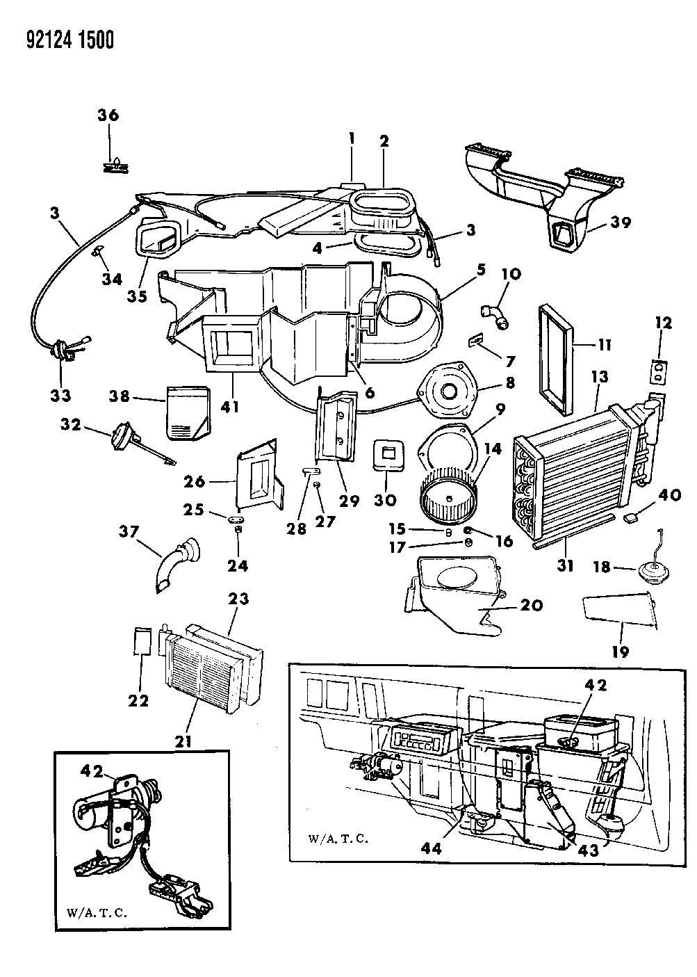 4462841  Genuine Mopar RESISTORAC BLOWER    MOTOR