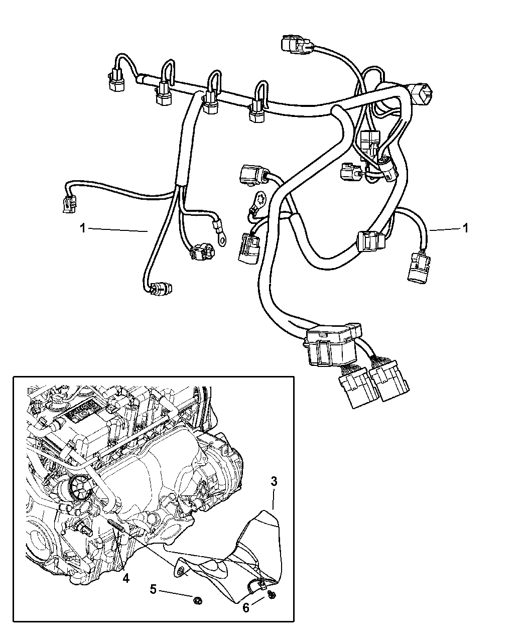 1998 Dodge Neon Engine Wiring Diagram
