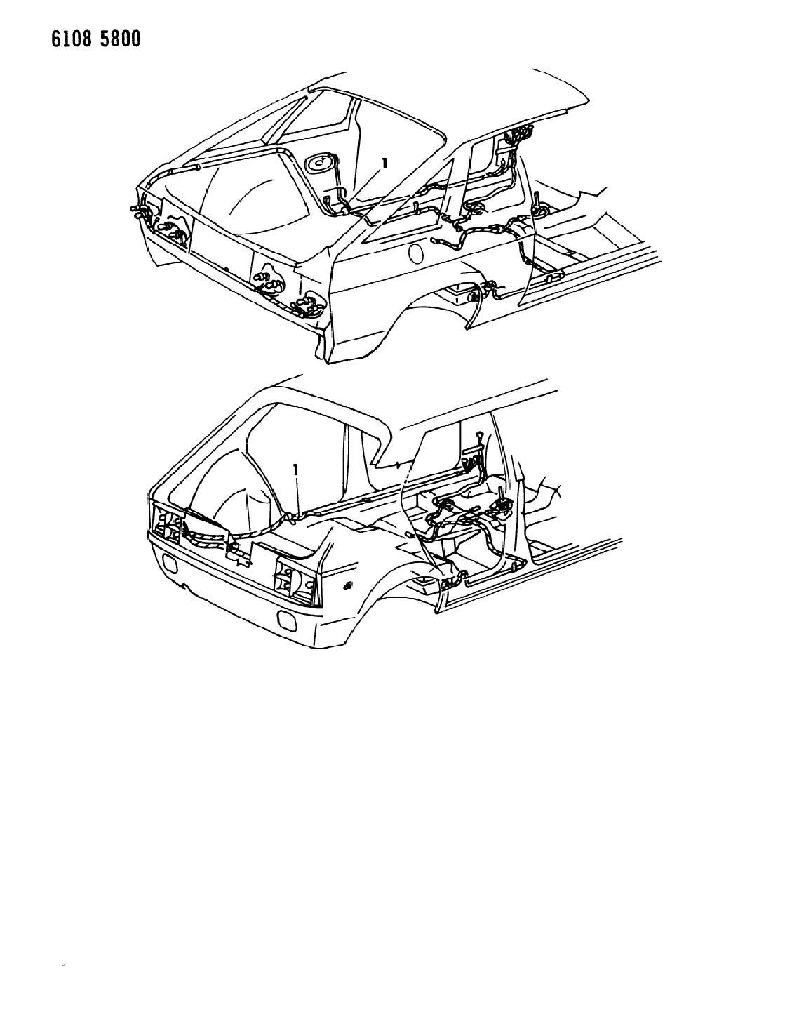 1986 dodge omni wiring body accessories mopar parts giant 1986 dodge omni wiring body accessories
